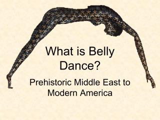 What is Belly Dance