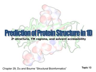 Prediction of Protein Structure in 1D