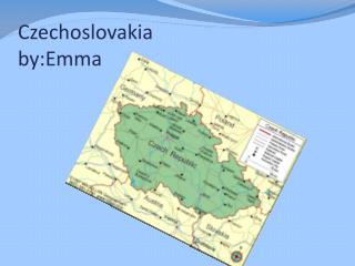 Czechoslovakia by:Emma