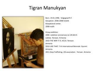Tigran Manukyan