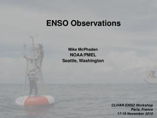ENSO Observations