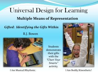 Multiple Means of Representation