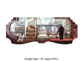 Google  logo  – 24 . august 2011
