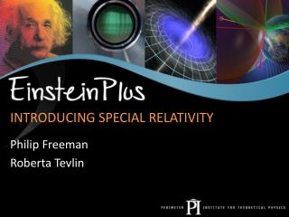 Introducing Special Relativity