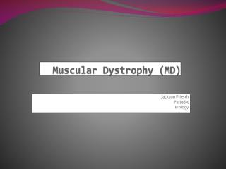 Muscular  Dystrophy (MD)