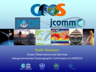 Keith Alverson Ocean Observations and Services