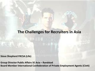 The Challenges for Recruiters in Asia