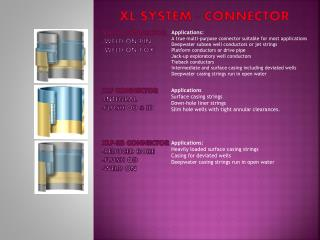 XL SYSTEM - Connector