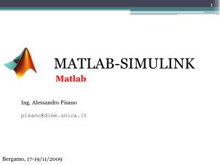 MATLAB-SIMULINK