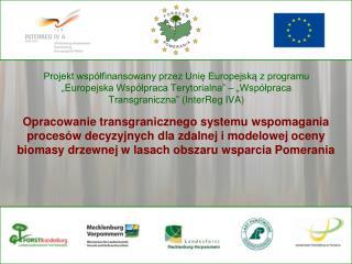 Paweł Strzeliński Katedra Urządzania Lasu, Uniwersytet Przyrodniczy w Poznaniu