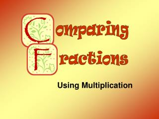 Using Multiplication