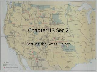 Chapter 13 Sec 2