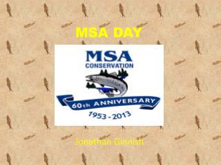 MSA DAY