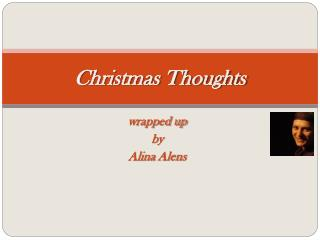 Christmas Thoughts