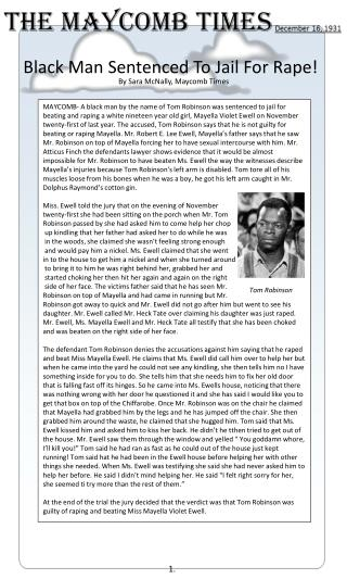 Black Man Sentenced To Jail For Rape!