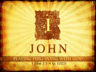PLAYING PING-PONG WITH GOD