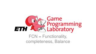 FCN = Functionality, completeness, Balance