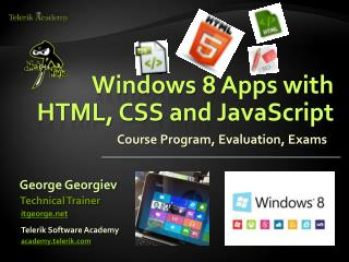 Windows 8 Apps with HTML, CSS and JavaScript