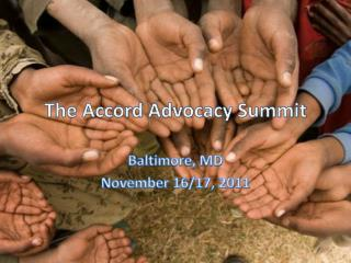 The Accord Advocacy Summit