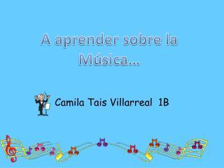 Camila Tais Villarreal  1B