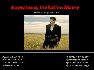 Expectancy Violation Theory