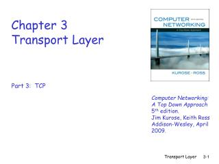 Chapter 3 Transport Layer