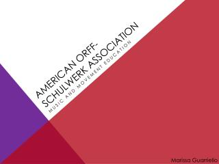 American  orff -  schulwerk  Association