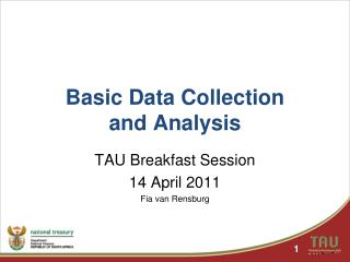 Basic Data Collection  and Analysis
