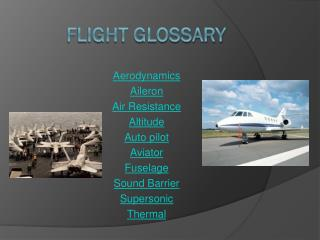flight glossary