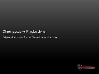 Cinemassacre  Productions