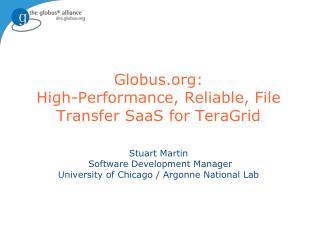 Globus  Toolkit  vs Globus.org