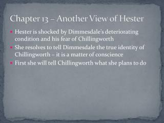 Chapter 13 – Another View of Hester