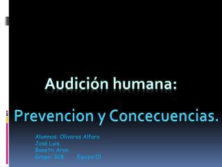Audición humana: