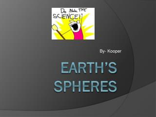 Earth's Spheres