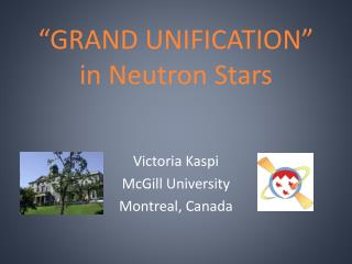 �GRAND UNIFICATION� in Neutron  Stars