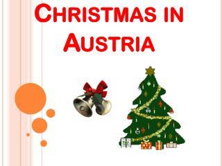 C hristmas in Austria