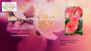 June � The Month of Roses