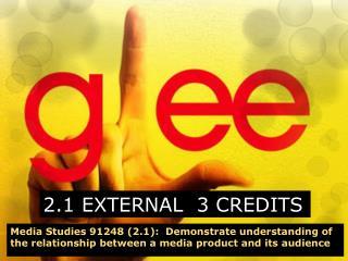 2.1 EXTERNAL  3 CREDITS