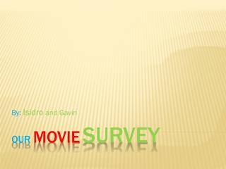 Our movie survey