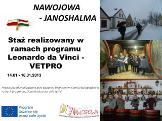 NAWOJOWA            - JANOSHALMA