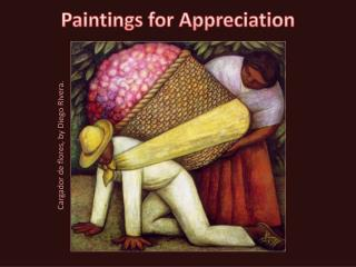 Paintings for Appreciation