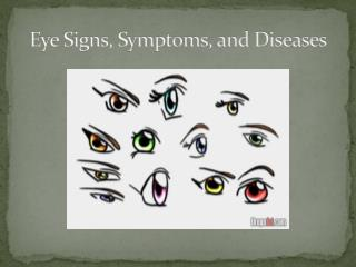 Eye Signs, Symptoms, and Diseases