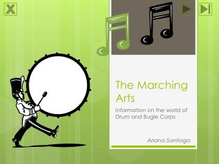The Marching Arts