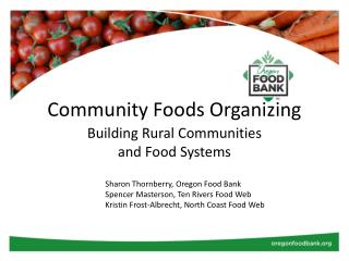 Community Foods Organizing
