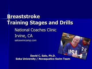 Breaststroke Training Stages and Drills