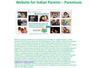 Parenting - Parentune
