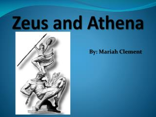 Zeus and Athena
