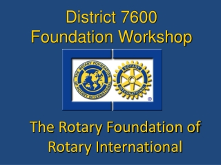 The Rotary Foundation  Donor Advised Fund
