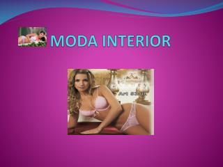 MODA INTERIOR