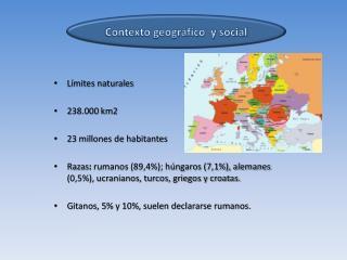 Contexto geográfico  y social